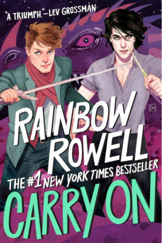 book cover of Rainbow Rowell's Carry On