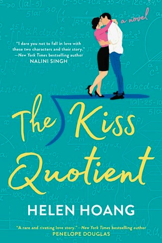book cover of Helen Hoang's The Kiss Quotient