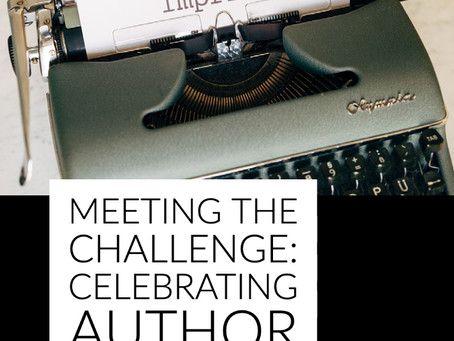 Meeting the Challenge: Celebrating Author Imprints