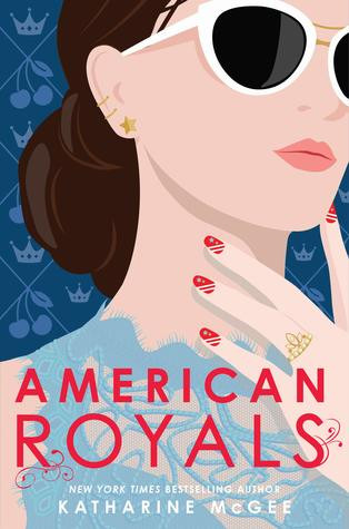 book cover of Katharine McGee's American Royals