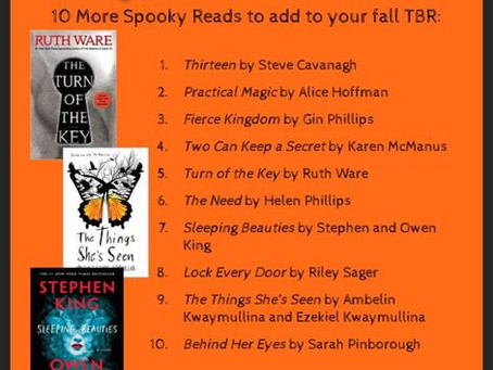10 More Spooky Reads for Your Fall Reading List
