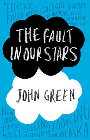 Book cover of John Green's The Fault in Our Stars