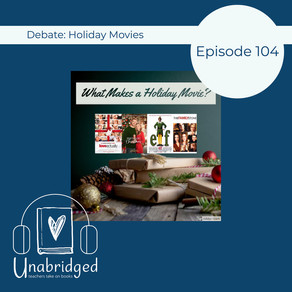 104: Debate - What Makes a Holiday Movie? - I'm Having a Conversation in My Head