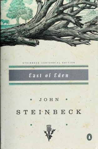 book cover of John Steinbeck's East of Eden