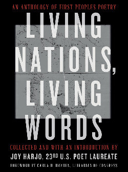 Book cover of Joy Harjo's Living Nations, Living Words
