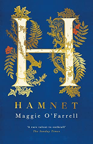 Book cover of Maggie O'Farrell's Hamnet