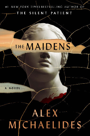 Book cover of Alex Michaelides's The Maidens