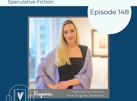 148: Our Speculative Fiction Recs with Virginia Soenksen, Author of the GENETICS CHRONICLES Series