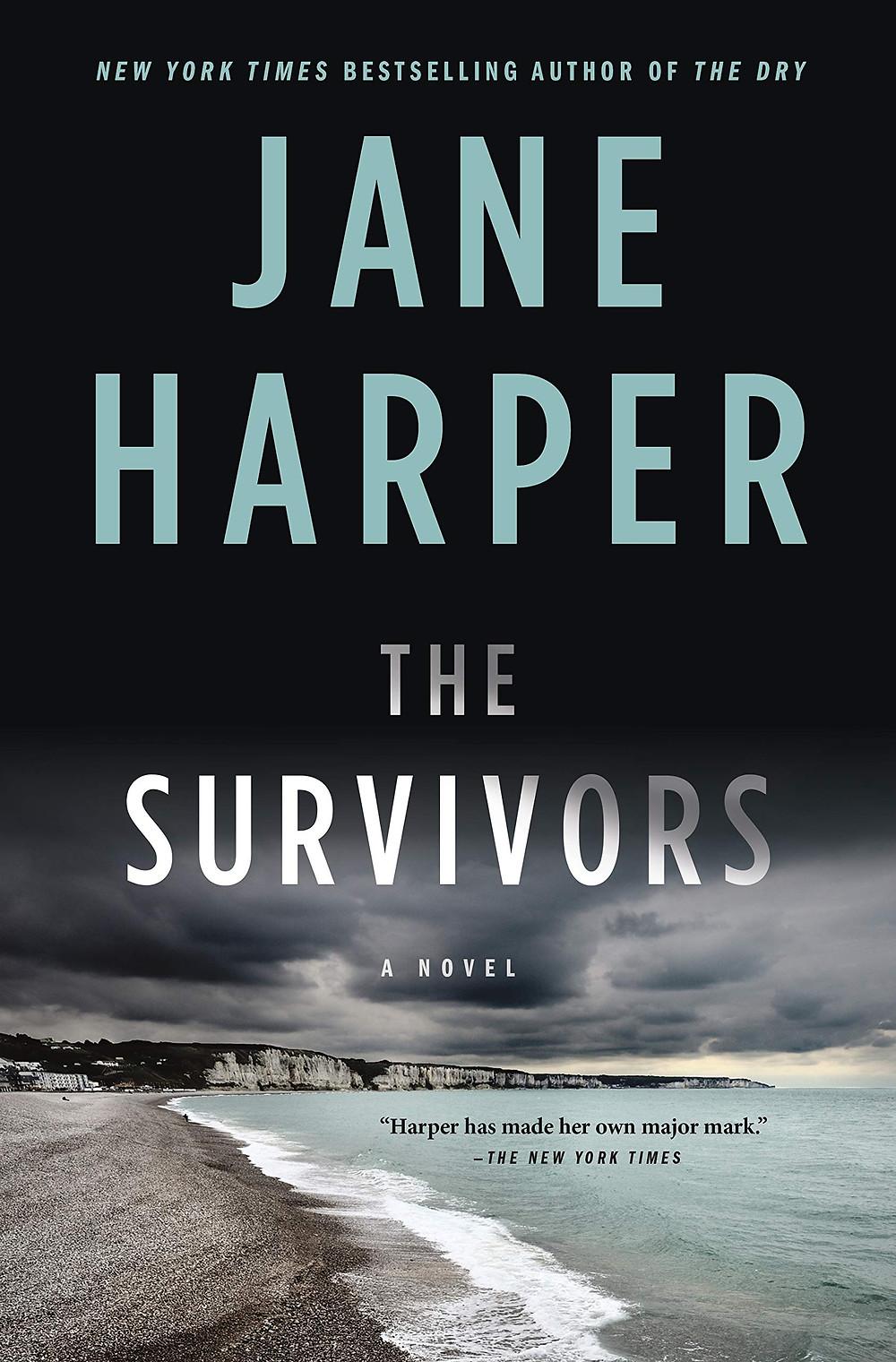 book cover of Jane Harper's The Survivors