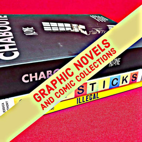 48: Graphic Novels and Comic Collections - Stay the Course and Go for It