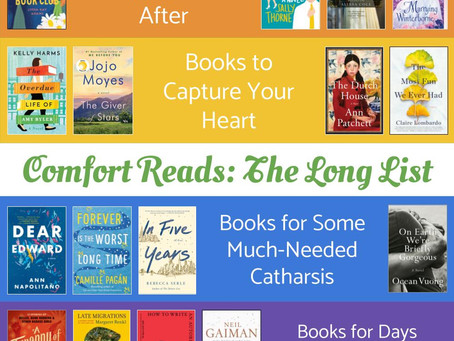 Comfort Reads: The Long List