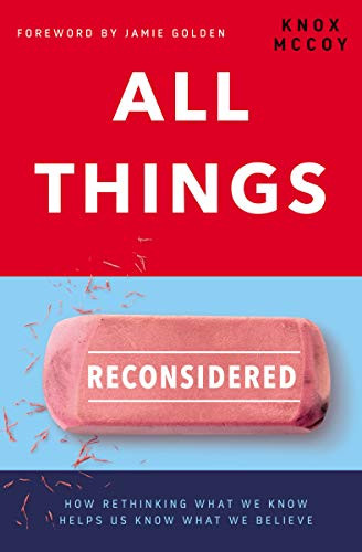 Book Cover of Knox McCoy's All Things Reconsidered