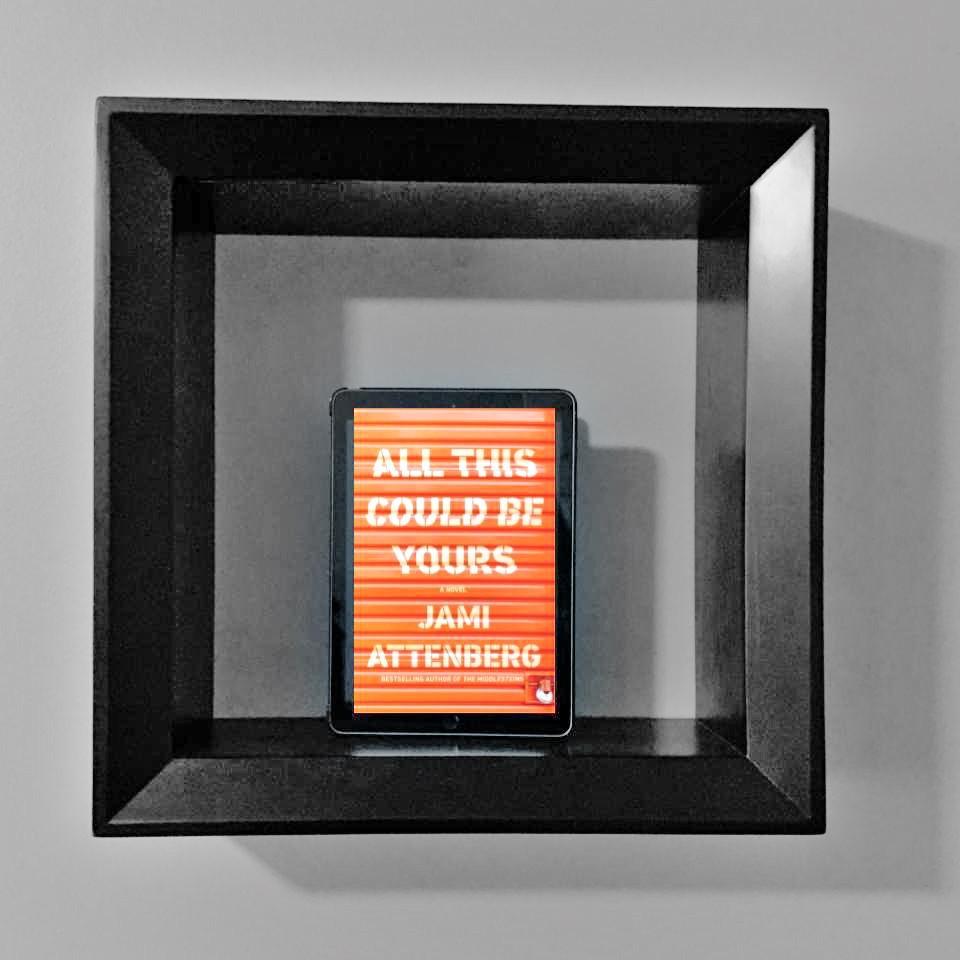 book sitting on shelf