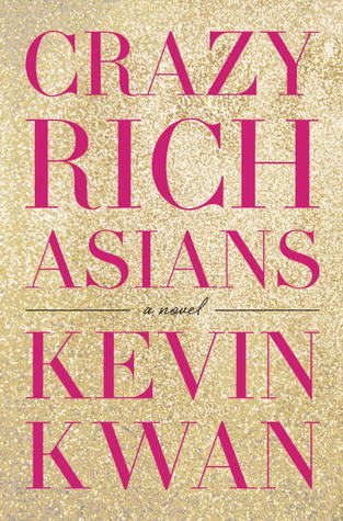 Book cover of Kevin Kwan's Crazy Rich Asians