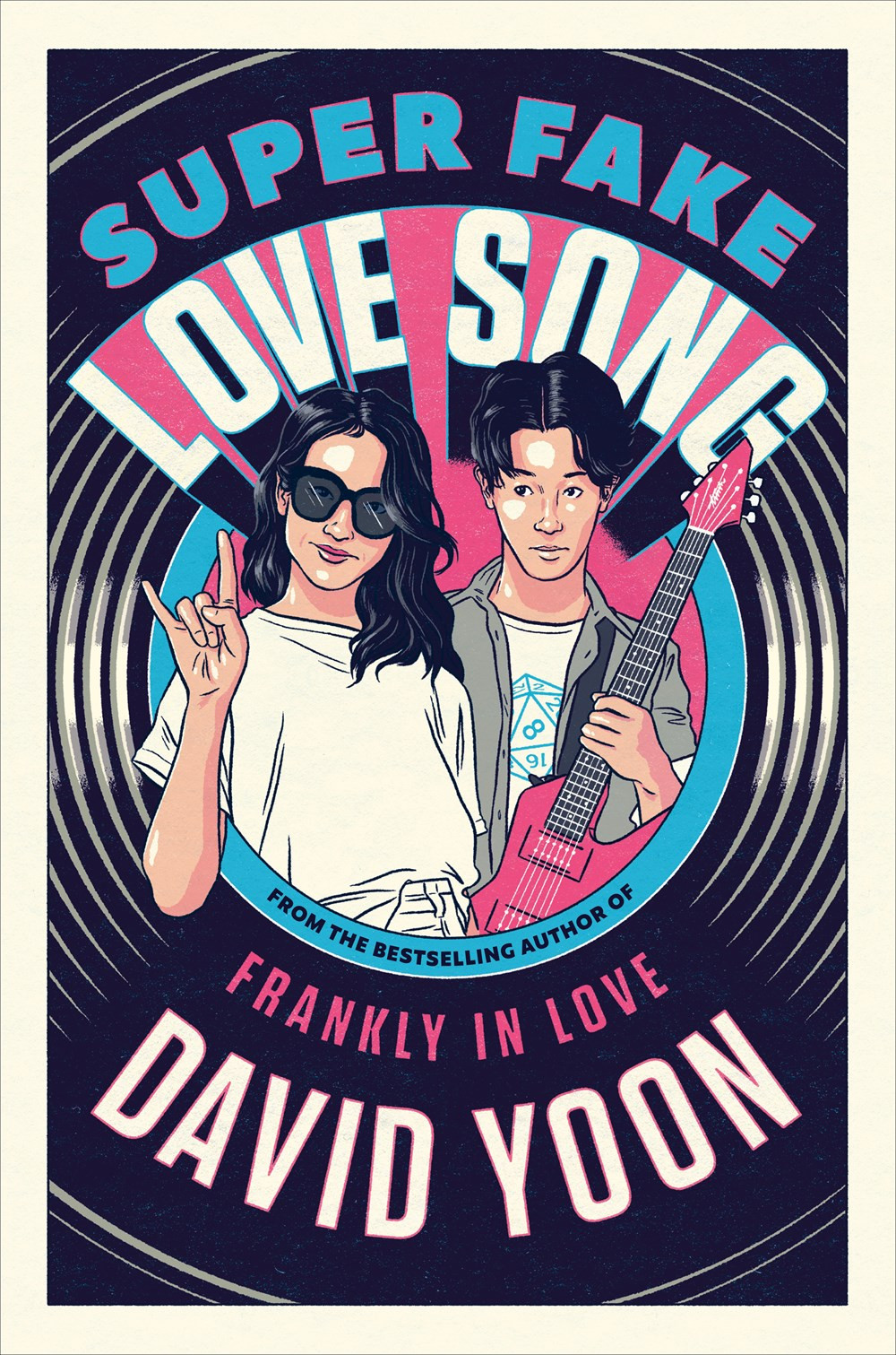 book cover of David Yoon's Super Fake Love Song
