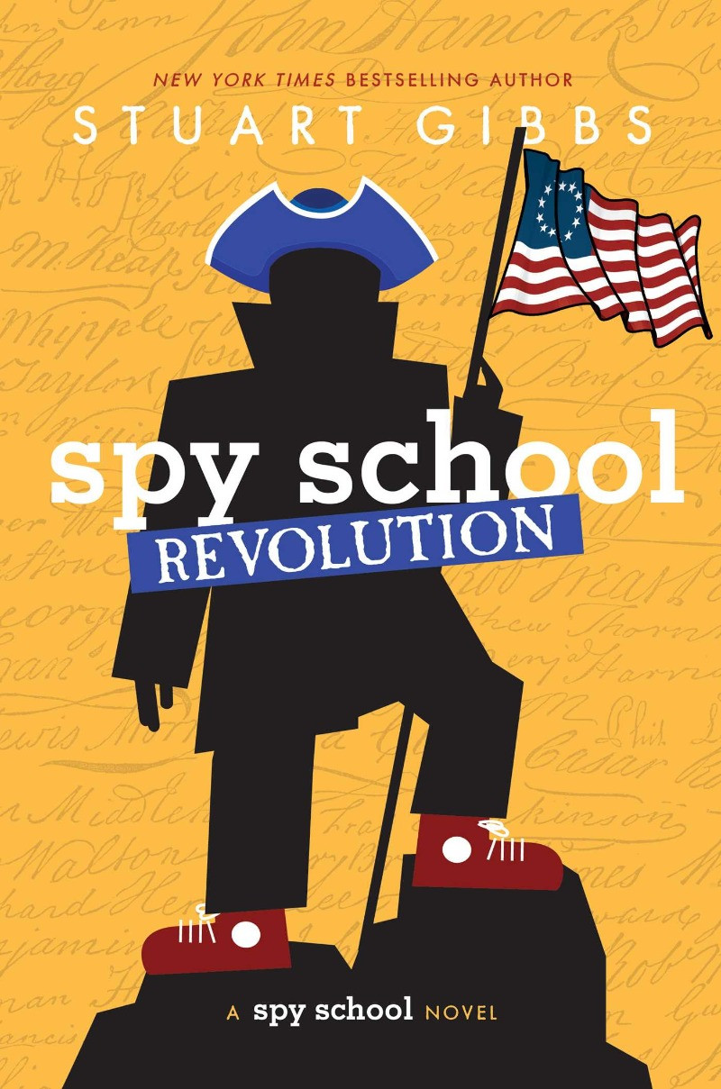 book cover of Stuart Gibbs's Spy School Revolution