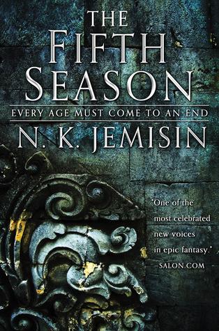 book cover of N. K. Jemisin's The Fifth Season
