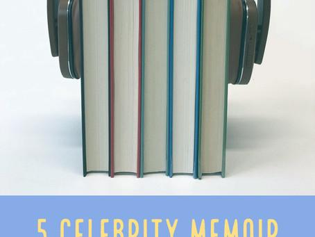 5 Celebrity Memoir Audiobooks to Add to Your TBR