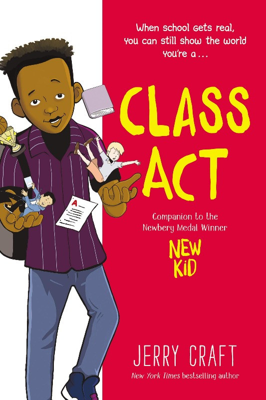 Book Cover of Class Act by Jerry Craft