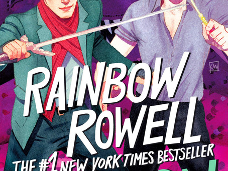 Rainbow Rowell's CARRY ON- Harry Potter Fans Take Note--Sara's Review