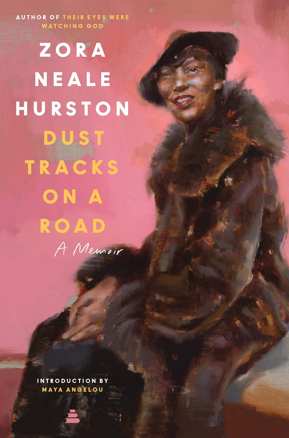 Book cover of Zora Neale Hurston's Dust Tracks on a Road