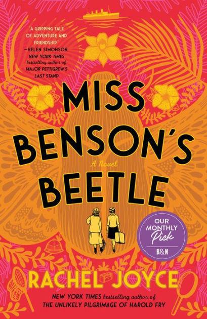 book cover of Rachel Joyce's Miss Benson's Beetle