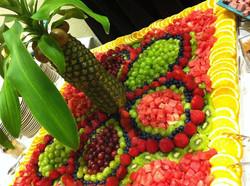 Bandejas de Frutas __ DECORADAS__