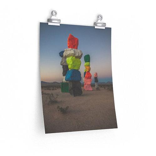 Premium Matte vertical posters