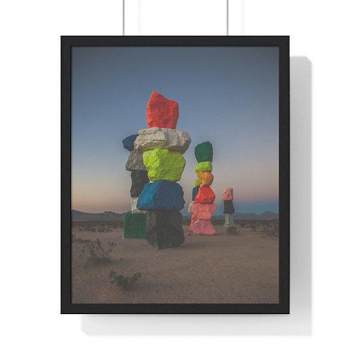 Premium Framed Vertical Poster