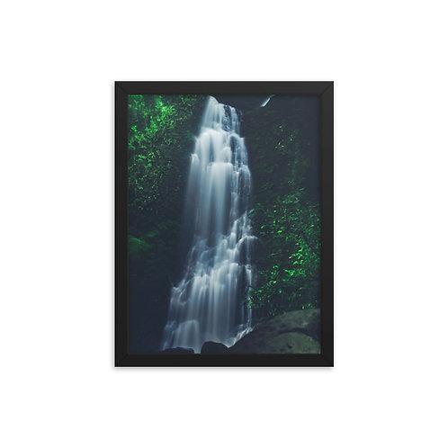 Lulumahu Falls Framed Poster