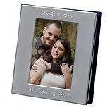 wedding album cover, engraved wedding album