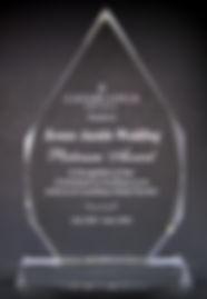 crystal awards, glass awards