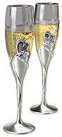 wedding champagne flutes, wedding champagne glasses, engraved champagne flutes