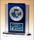 desk awards, desk clocks, corporate award