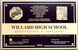 Decorative Dedication Plaque