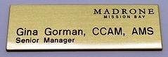 name badge, custom name badge
