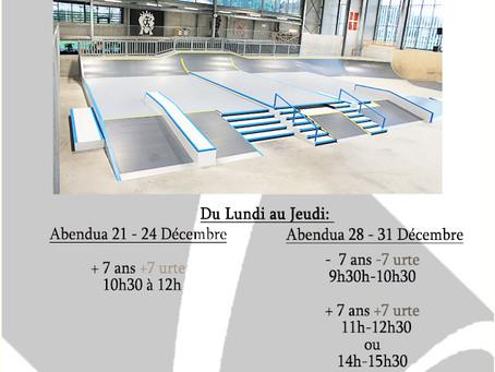 Stages Skate NOËL 2020