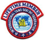International Tang Soo Do Federation Lifetime Member Patch