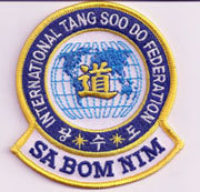 International Tang Soo Do Federation Master Patch