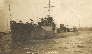 Royal Navy destroyer HMS Derwent
