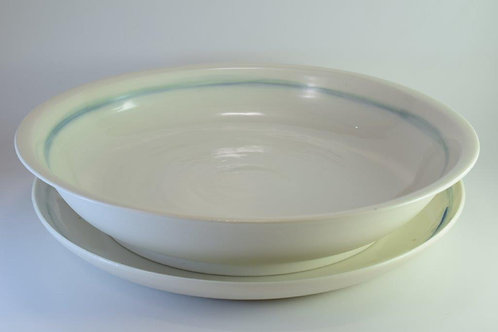 Seascape Serving bowl and platter