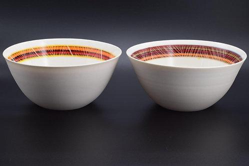 Peru Bowls - weaving