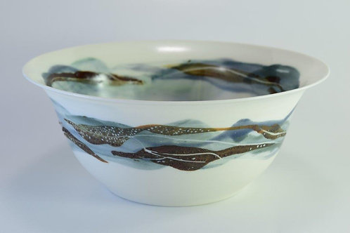 Seascape Small Serving Bowl