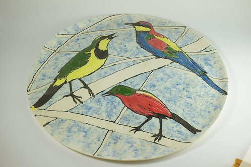 Large Plate 16