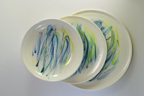 Large Plates (set) 12