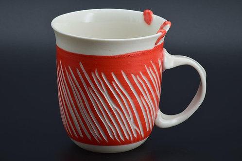 Mug (red ribbons)