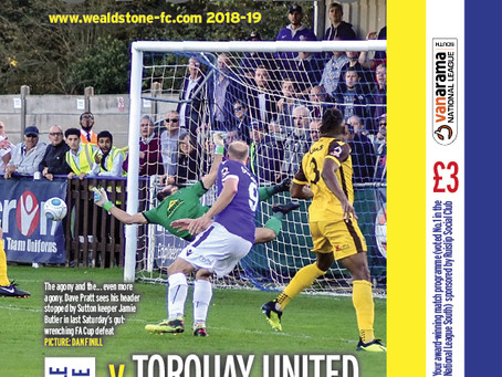 Preview - Torquay United - 27 Oct - KO15:00