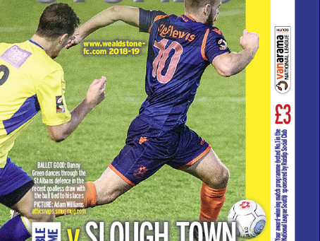 Preview - Slough Town - Boxing Day (26/12) - KO13:00
