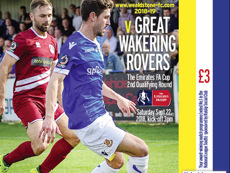 Preview - Great Wakering Rovers - 22 Sep -  KO15:00