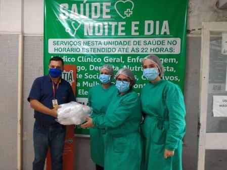 CR die Mentz doa máscaras descartáveis para Secretaria de Saúde